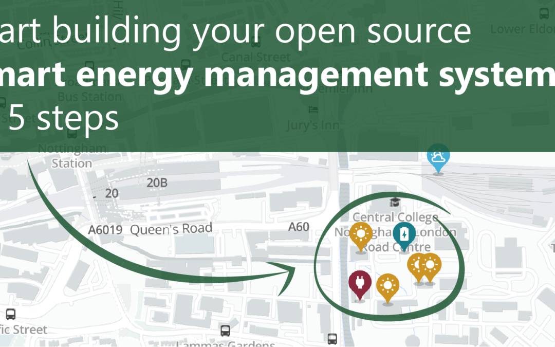 Start building your open-source smart energy management system in 5 steps